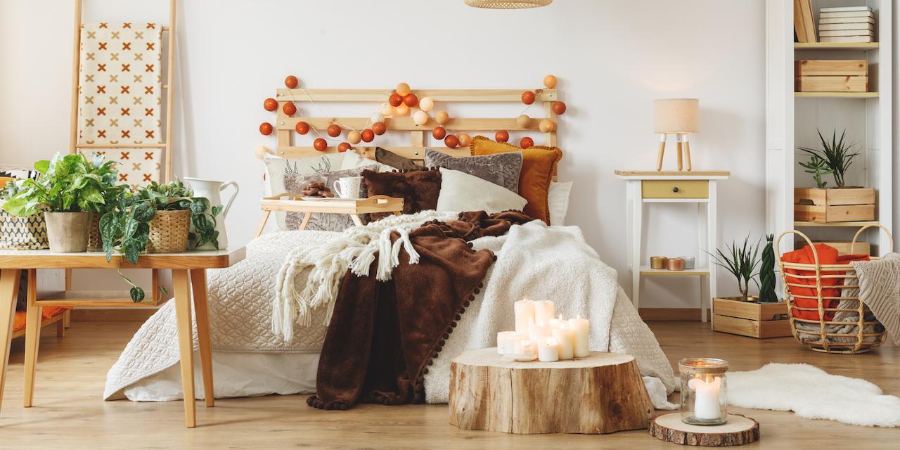 お部屋を秋仕様に変える3つのポイント