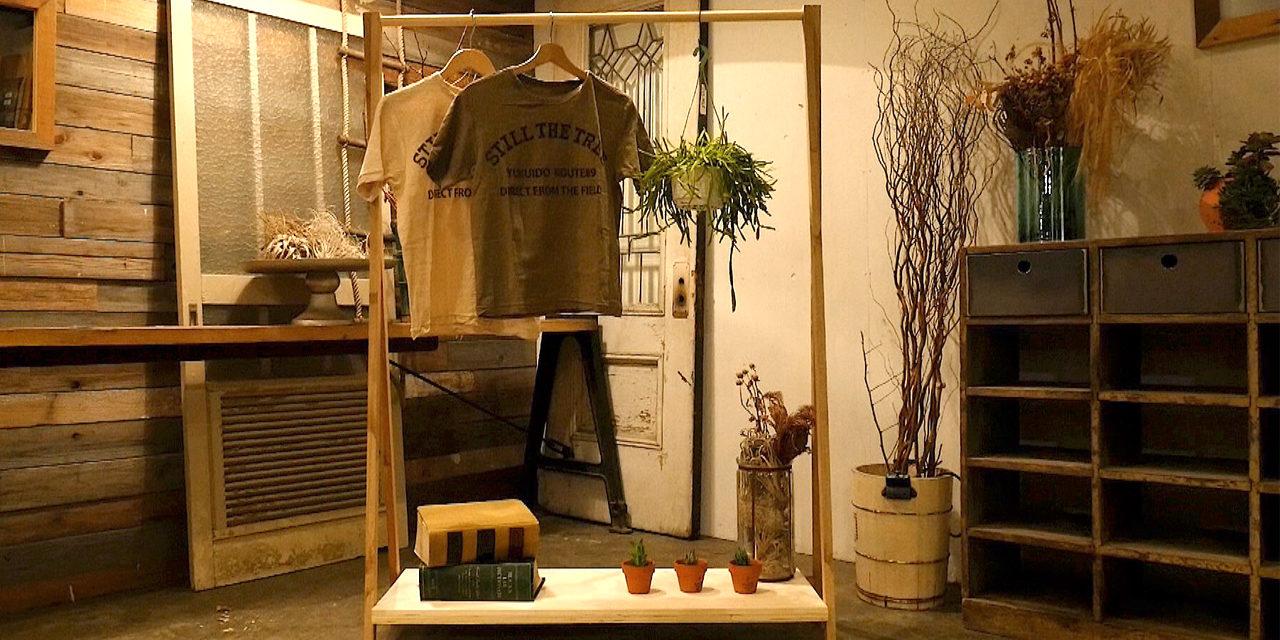 新生活に!廃材で作る棚付きハンガーラック-Hanger rack with shelves DIY