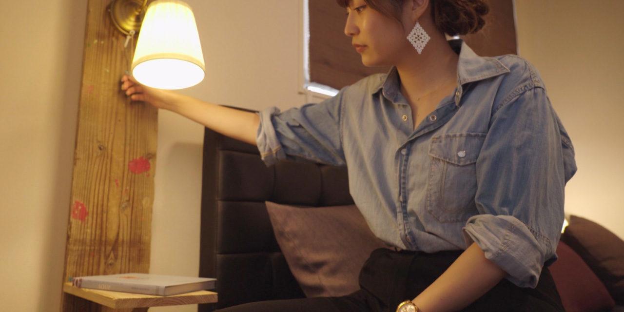 照明付き!足場板で作るナイトスタンド- Lamp stand DIY