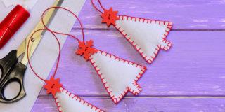 冬インテリアに!フェルトで作るクリスマス小物3選