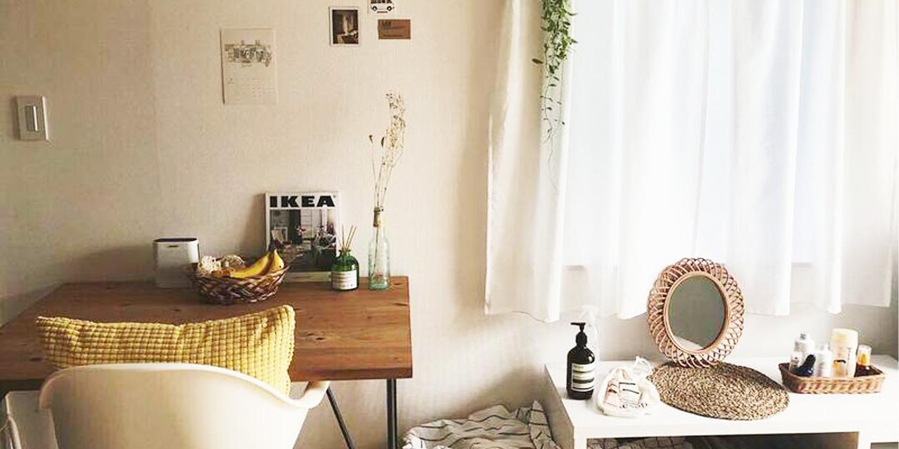 【こだわりの部屋づくりvol.13:後編】 家具の色やブランドを揃えた北欧テイストの部屋づくり(yu__ca719さん)