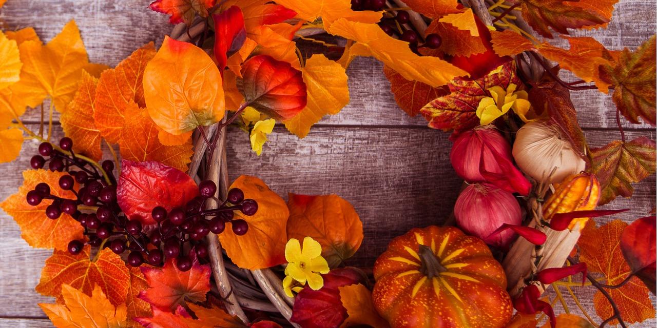 簡単DIY!基本のリース作りと秋におすすめの素材をご紹介