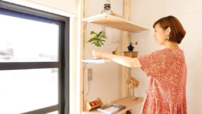 [棚・有孔ボードDIY]賃貸でも大丈夫!傷を付けない壁面収納- Shelves&Perforated board DIY
