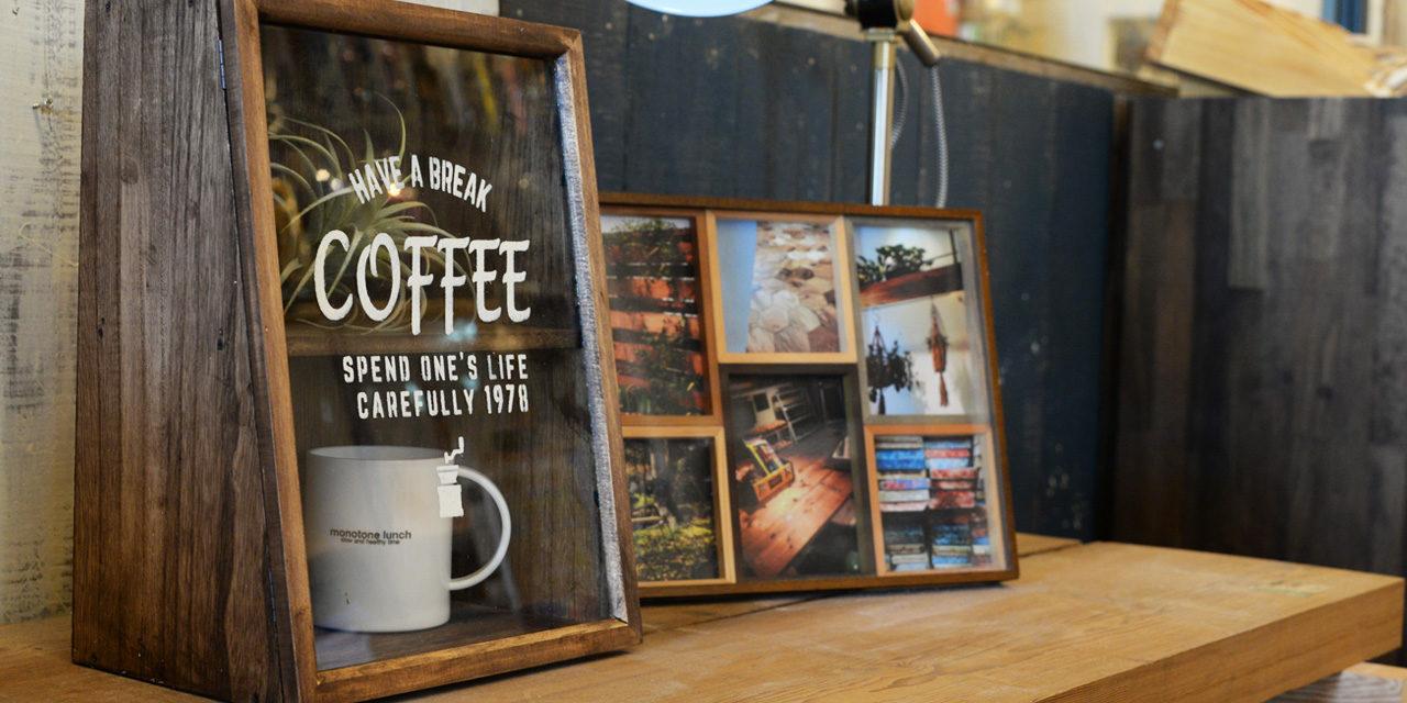 フレームを使ってカフェ風ガラスケースの作り方♪