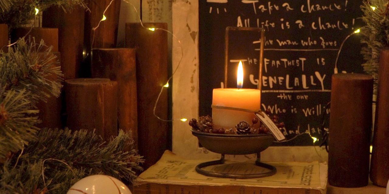 【100均DIY】クリスマスにぴったり!ダイソーのお玉立てを真鍮のキャンドルホルダーにペイントリメイク