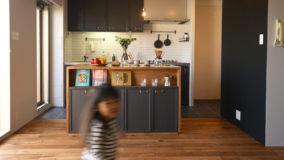 [キッチン・ビフォーアフター]プロと一緒にセルフリノベ!Kitchen DIY BeforeAfter