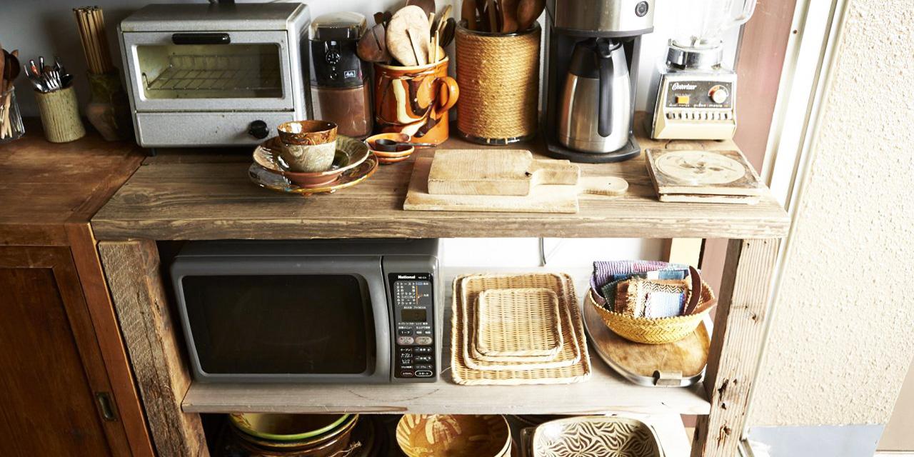 お気に入りの食器棚は自分で作る!