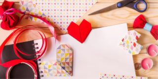 バレンタインを盛り上げるテーブルコーディネートや飾りつけ