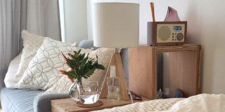 【こだわりの部屋づくりvol.21:前編】 木目調の家具とお花でつくる!ナチュラルテイストの部屋(美波さん)