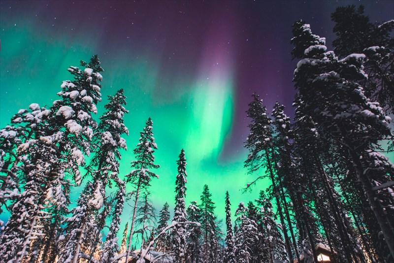 北欧の夜は寒くて長いのです