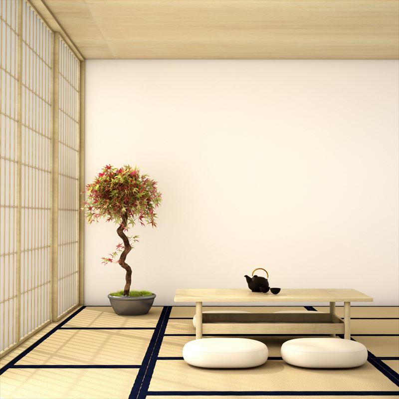半畳を使った和室
