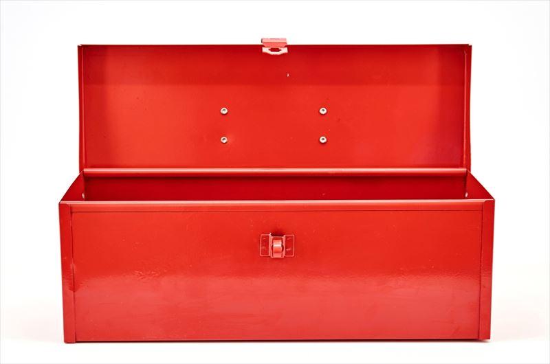 金属製の収納ボックス