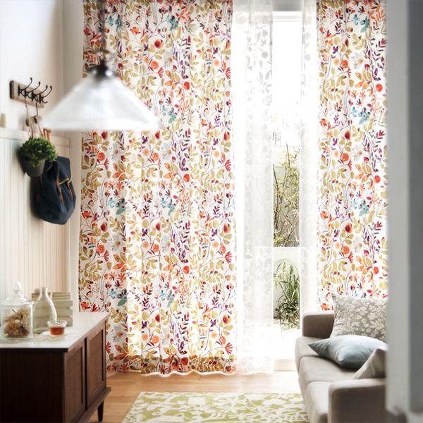 デザイン性のあるカーテン