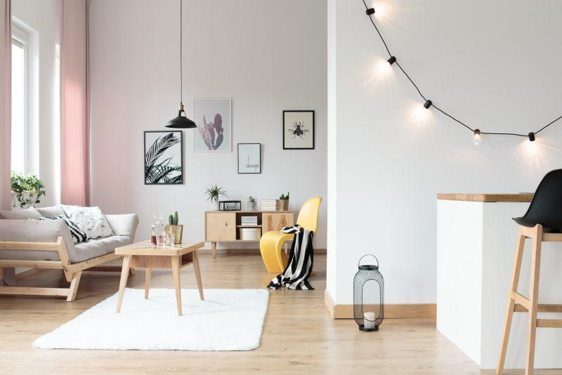 間接照明で魅力的な部屋作り