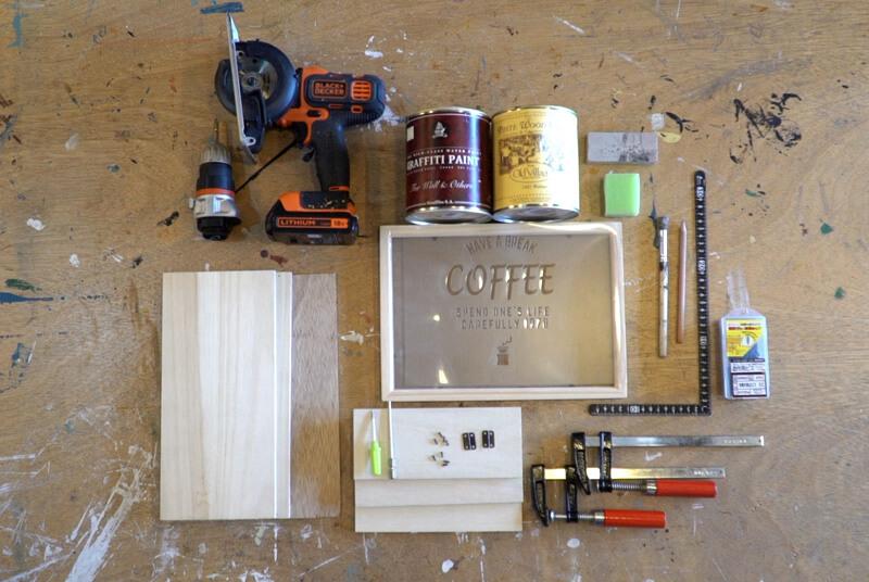 カフェ風ガラスケース材料
