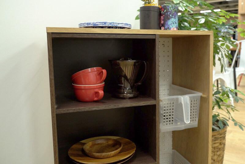 キッチンワゴンの棚