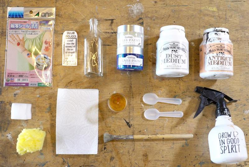 ガラス瓶材料