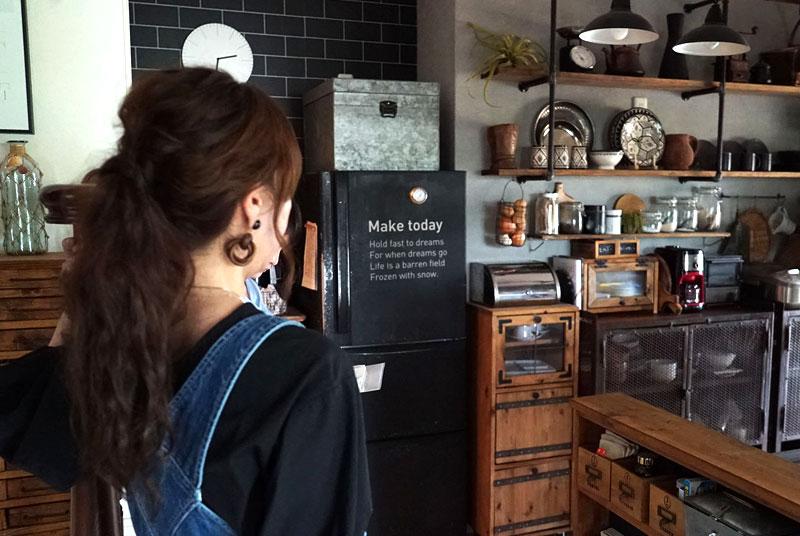 動線を意識したキッチン