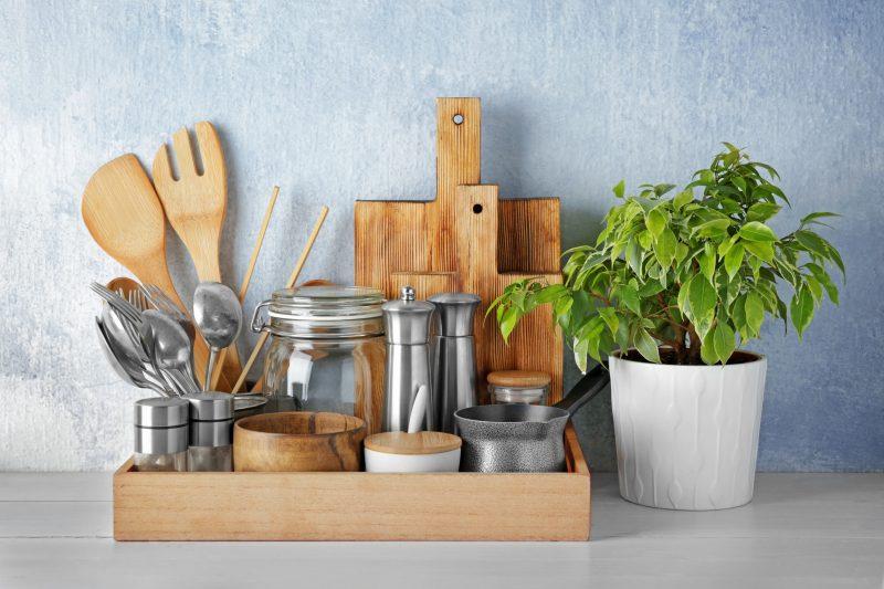 キッチンツールの見せる収納