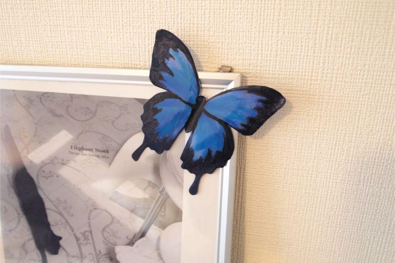 手づくりの蝶