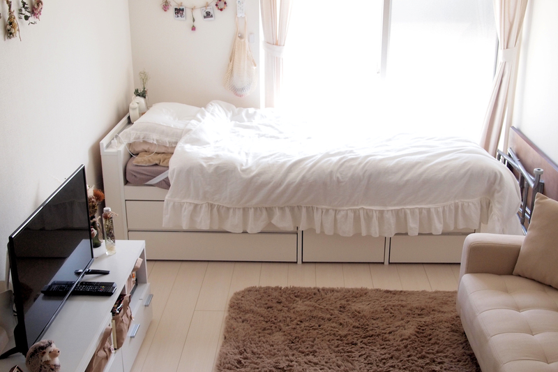 ベッド、テレビ台、タンス