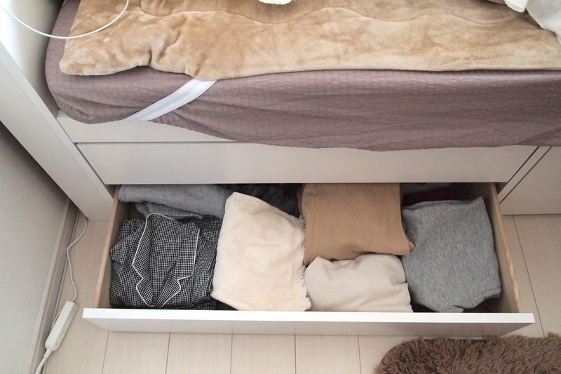 ベッド下収納