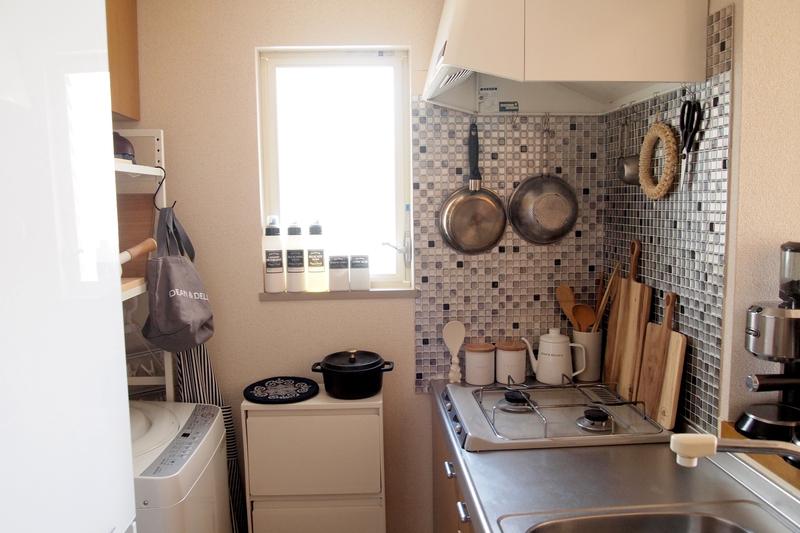 好きなものに囲まれたキッチン