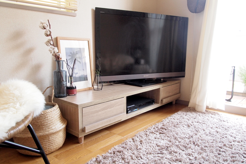 最後に購入したテレビ台