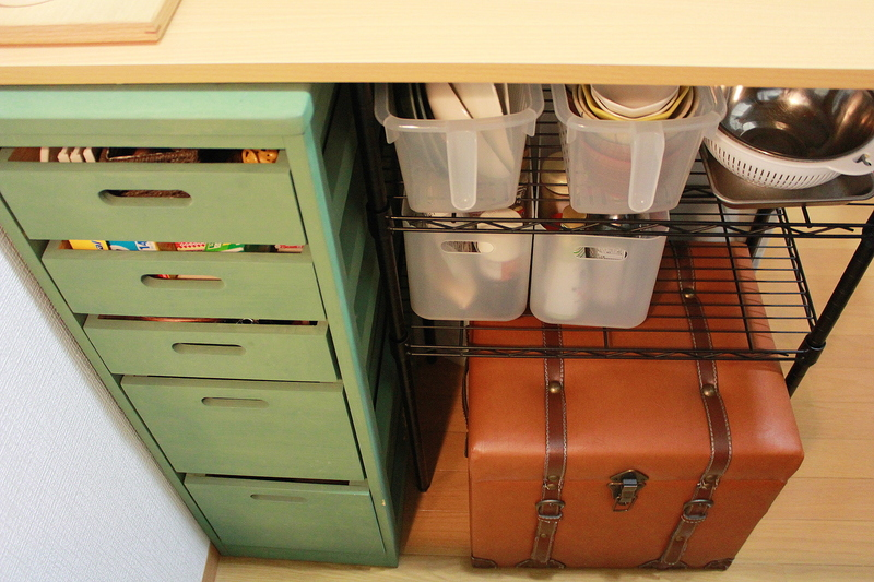 DIYしたキッチンカウンター