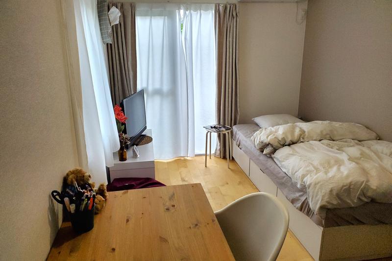 北欧テイストの部屋1