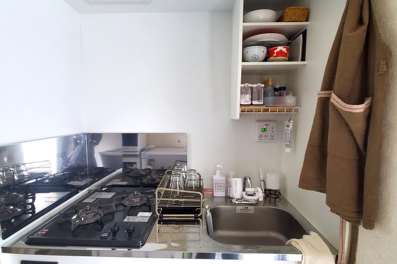 使いやすさ重視したキッチン