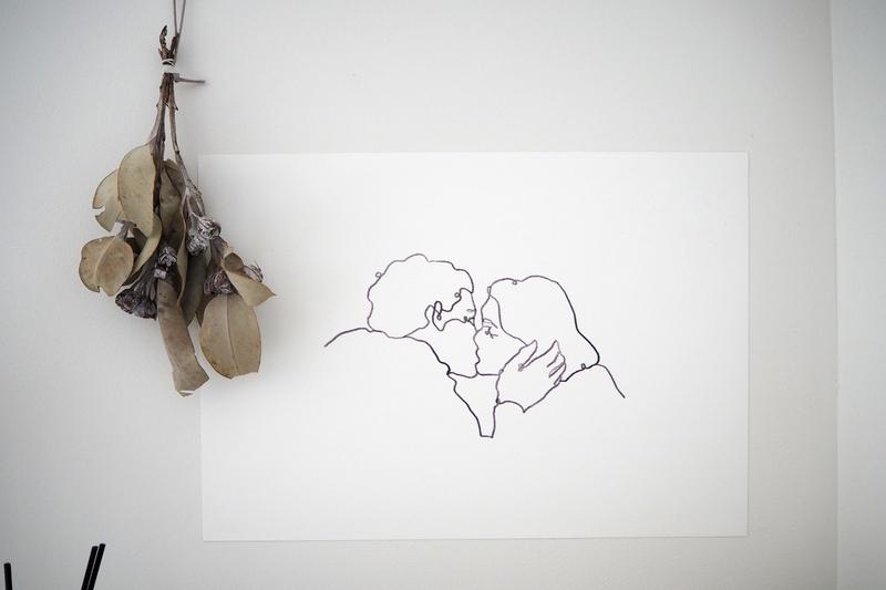 桃花が描いた絵