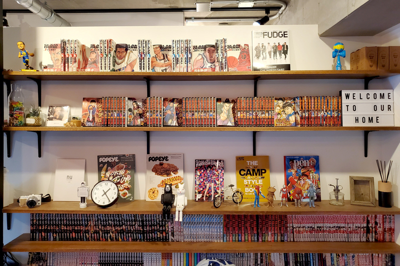 オーダーメイドの本棚