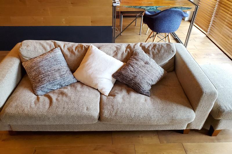 大きいサイズのソファ