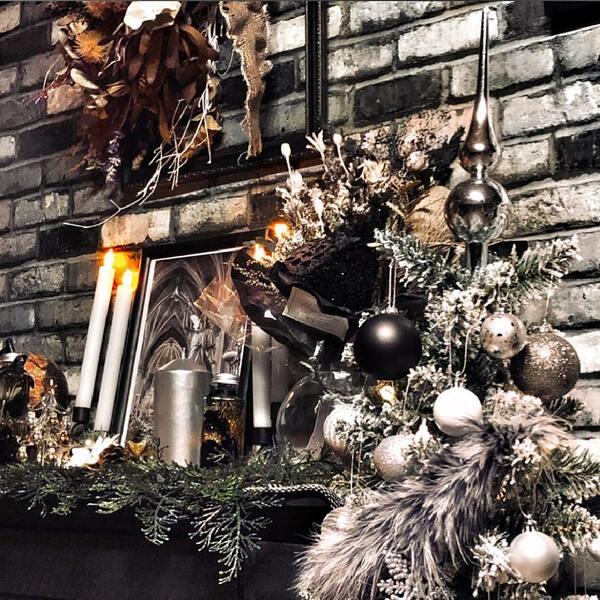 クリスマスに合わせたインテリア