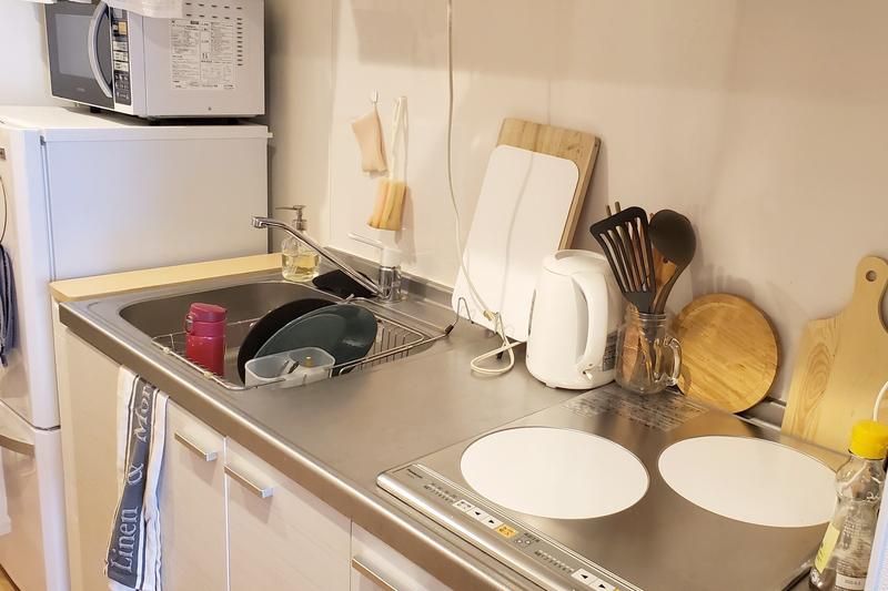 整理されたキッチン