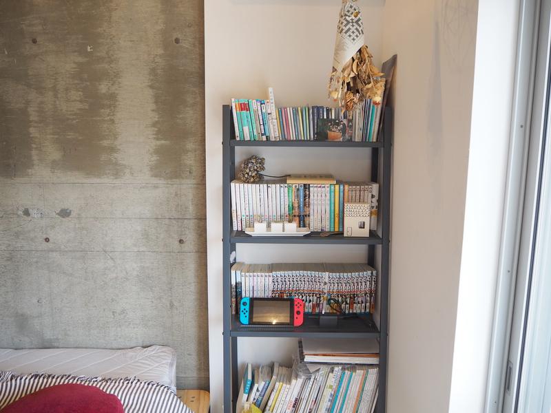本棚と使用している棚