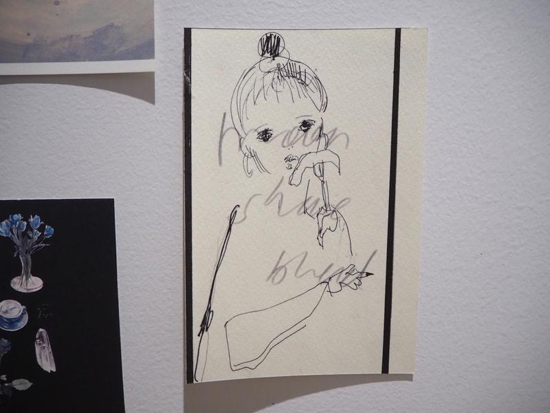 愛さんの友人が描いたイラスト