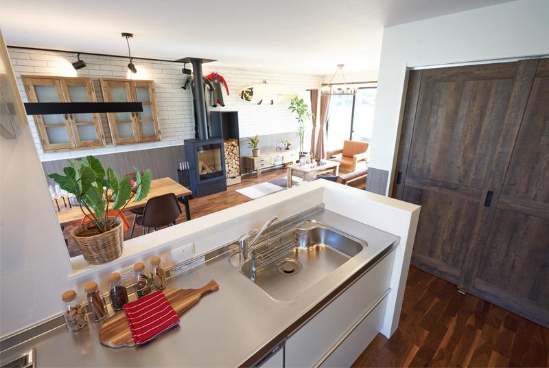 イングランドスタイルの内装 キッチン