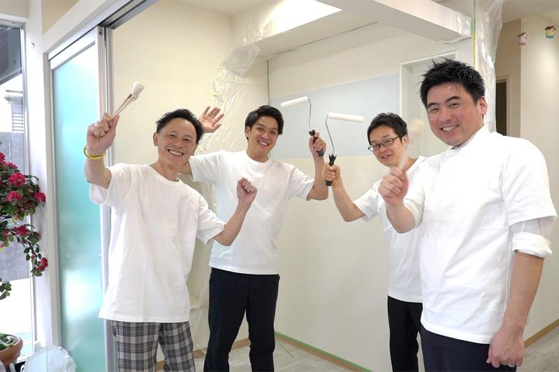 DIY前の社員の笑顔写真