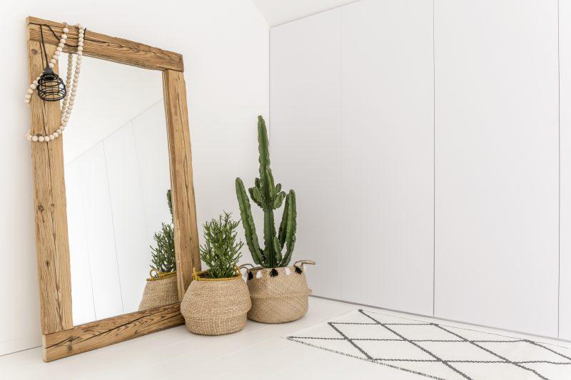 鏡の効果で部屋を広く見せる2-2