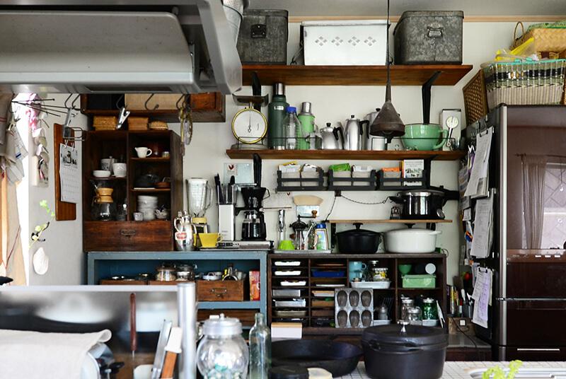 キッチン棚DIY