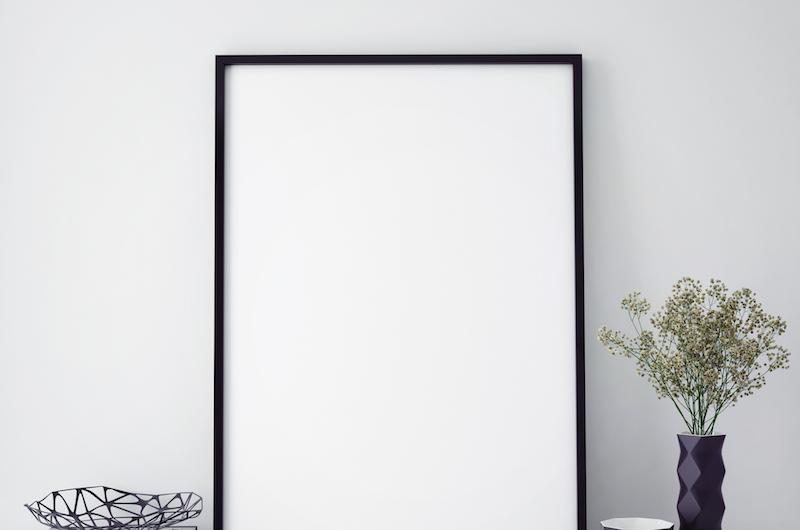 玄関のイメージを大きく変える絵画
