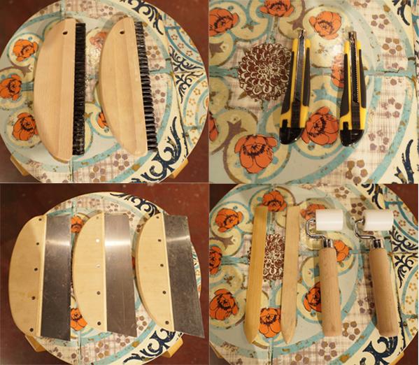 壁紙貼り替え道具