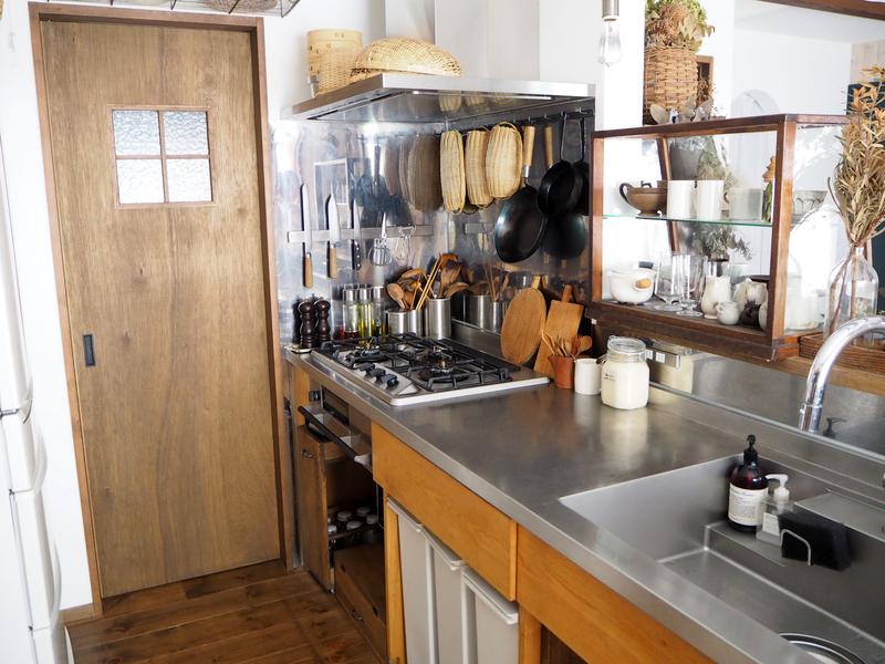 ステンレス製のオーダーキッチン