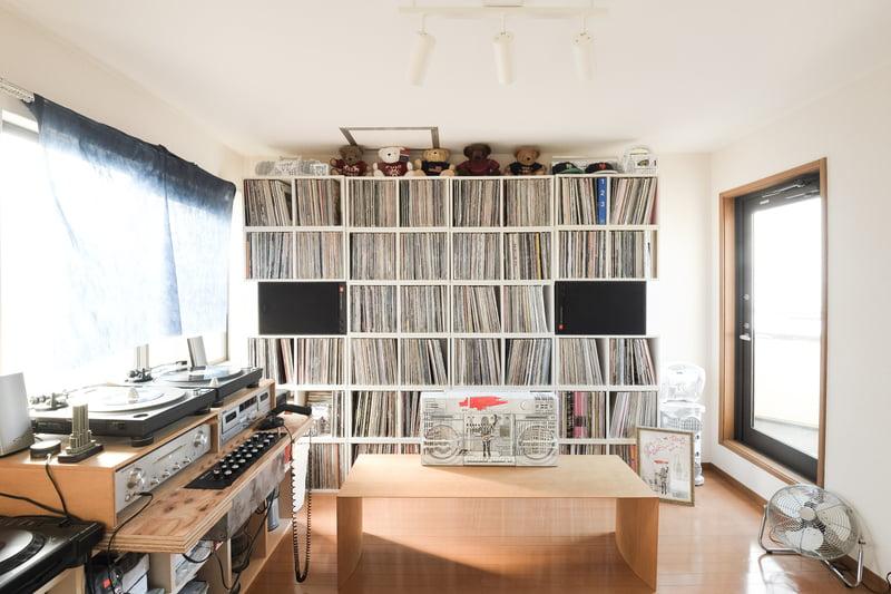 壁一面のレコード