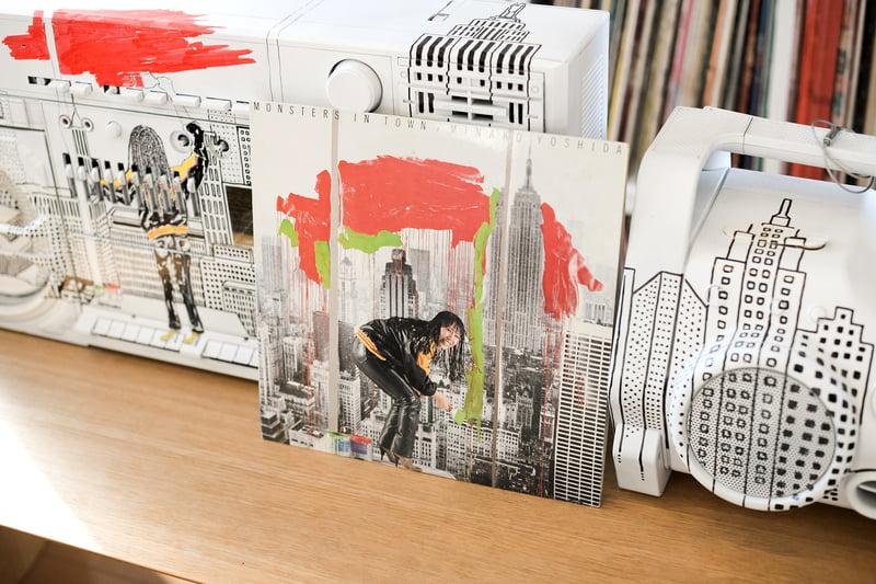 お気に入りアーティストのレコードジャケット
