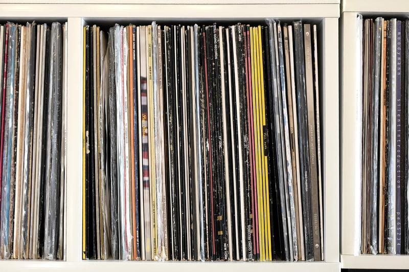 並べ方にこだわったレコード