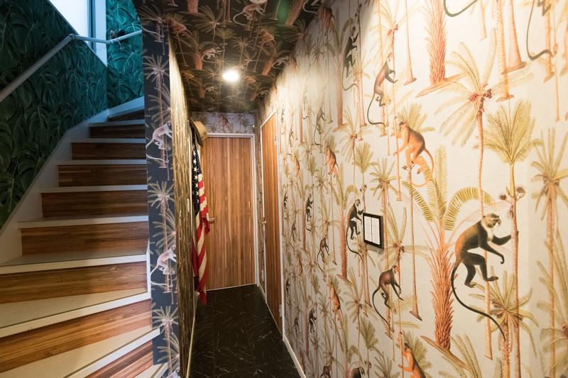 1階の壁紙
