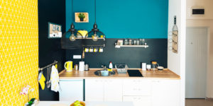 一人暮らしのキッチンにおすすめ!機能的でオシャレな壁面収納